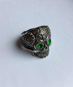 Doodshoofd ring