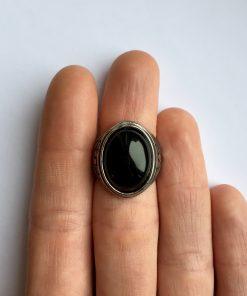 Onyx ring dames