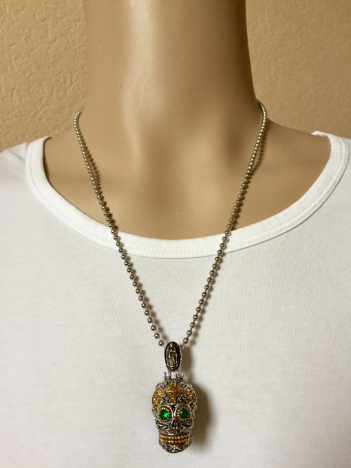 Schedel ketting