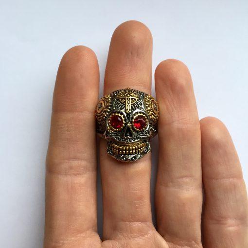 Schedel ring bovenaanzicht